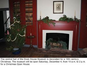 Doak House Christmas Open House